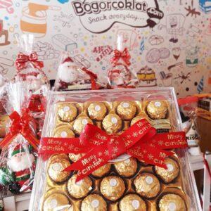 coklat hadiah natal