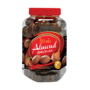 coklat alfredo almond milk