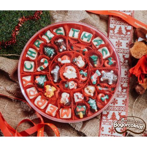 coklat natal