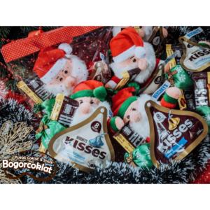 coklat natal sinterklas