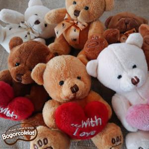 boneka teddy valentine