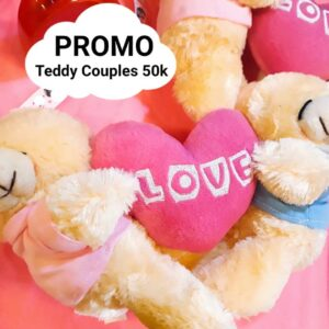 boneka teddy bear couples murah