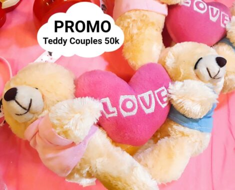 boneka teddy bear couples murah