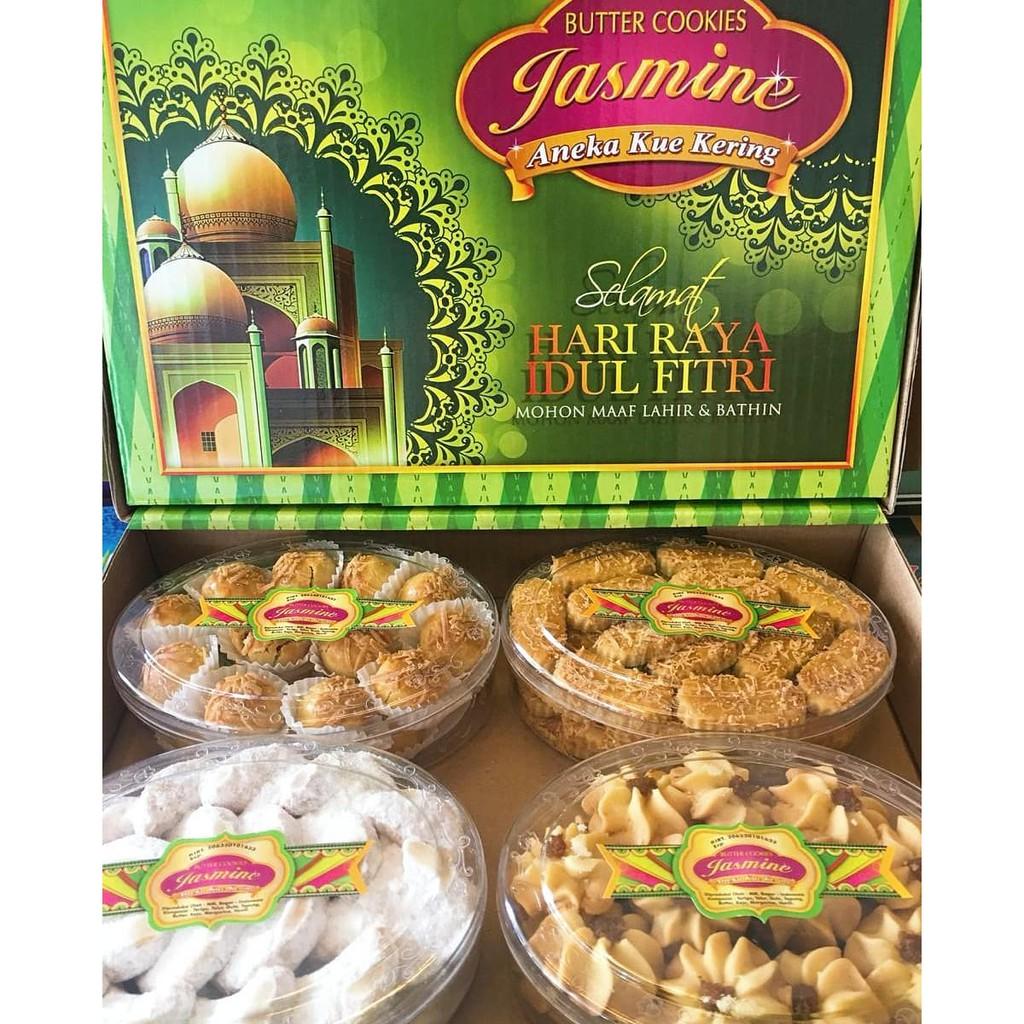 Paket Lebaran Kue Kering Jasmine Klasik 2020 Bogor Coklat Snack