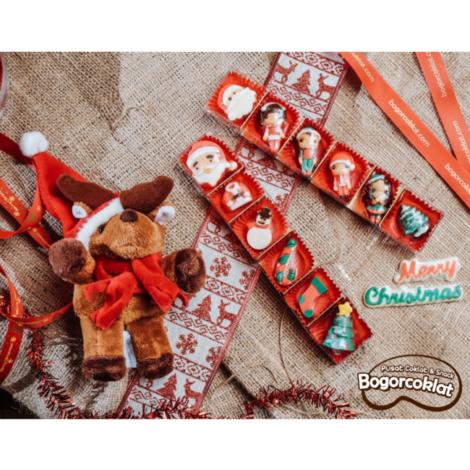 coklat karakter natal